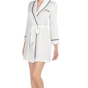 """Kate Spade """"Mrs"""" robe NWOT"""